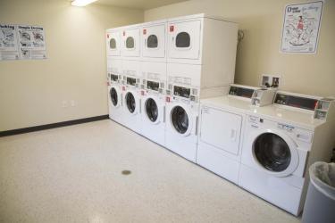 Kittredge Central laundry room