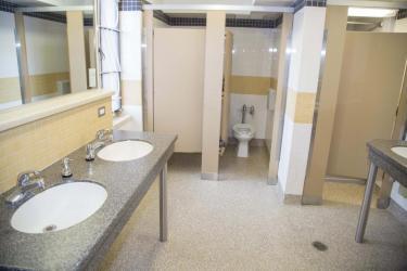 Sewall community bathroom