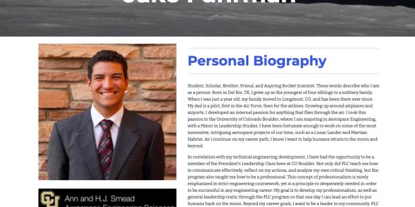Jake Fuhrman ePortfolio Site
