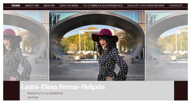 Laura-Elena Porras Holguin ePortfolio Exemplar