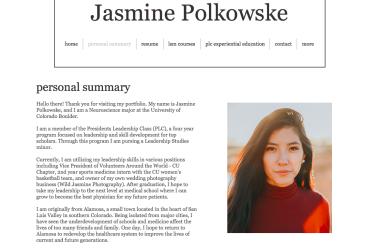 Exemplar Jasmine Polkowske