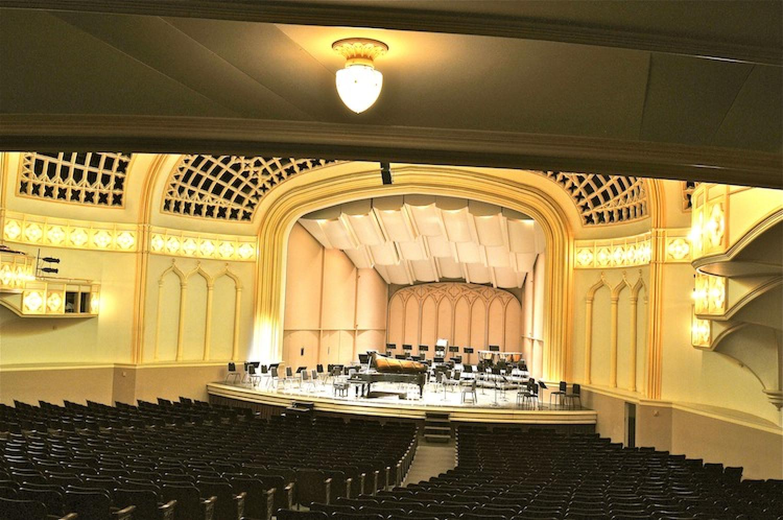 Seating Photo Gallery Macky Auditorium Concert Hall
