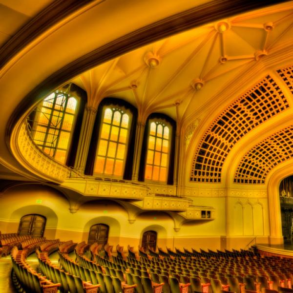 Macky Hall expansive interior (Photo by Mark Johnson)