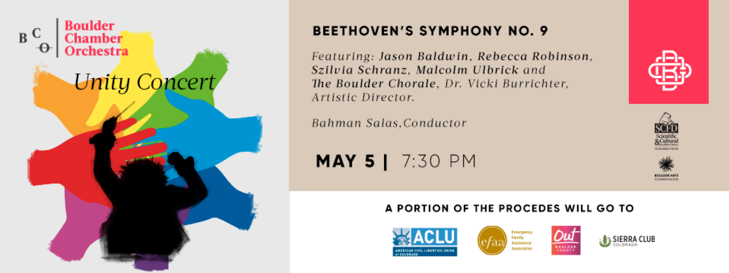 Boulder Chamber Orchestra - Beethoven 9th