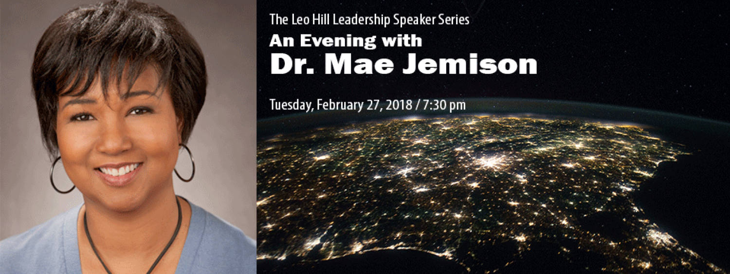 An Evening with Dr. Mae Jemison
