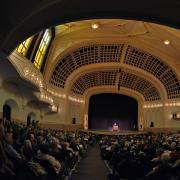 Auditorium Interior with Crowd