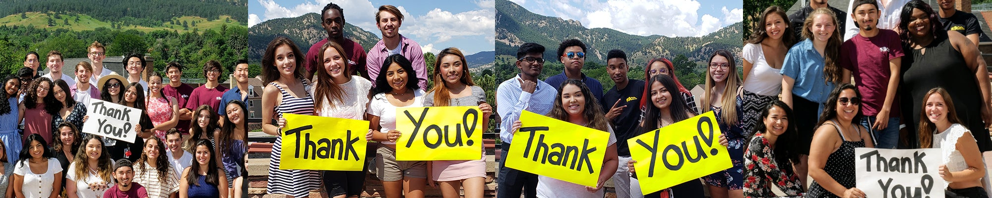 PEAC 2019 Cohort Thanking Their Donors