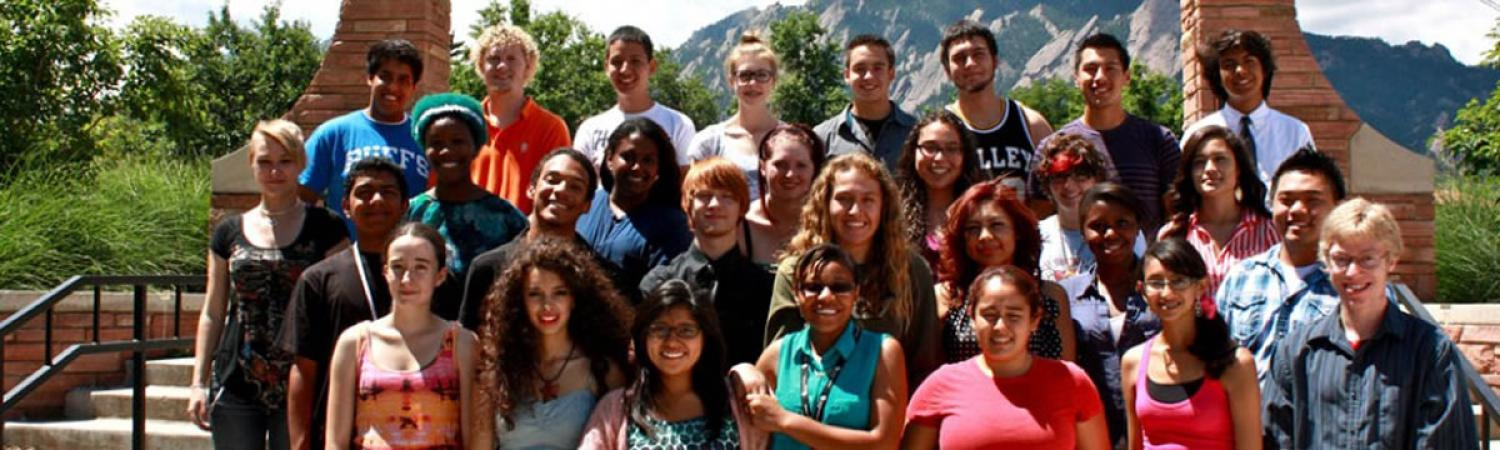 MASP Students Group Photo at Farrand Field