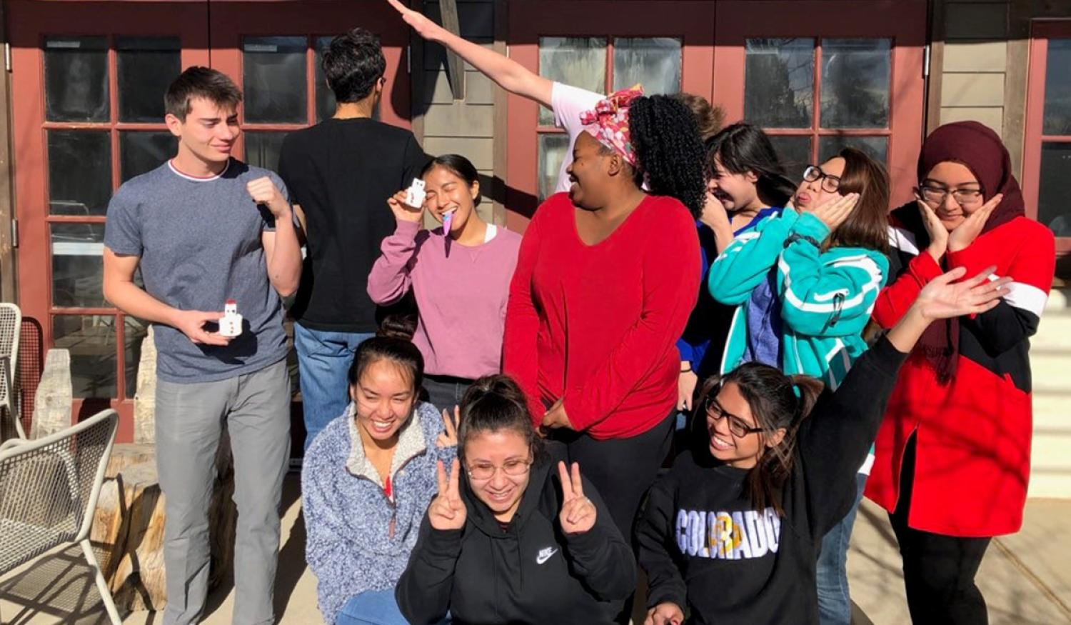 2019 Mini-PEAC Students Laughing Together