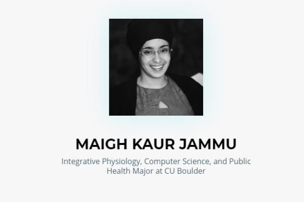 Maigh Jammu, speaker for 2019 TEDxCU