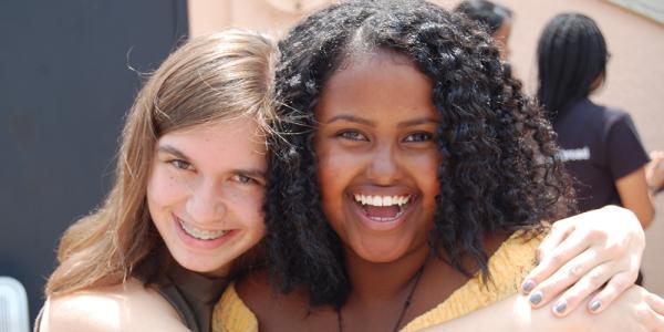 MASP students smiling at the camera