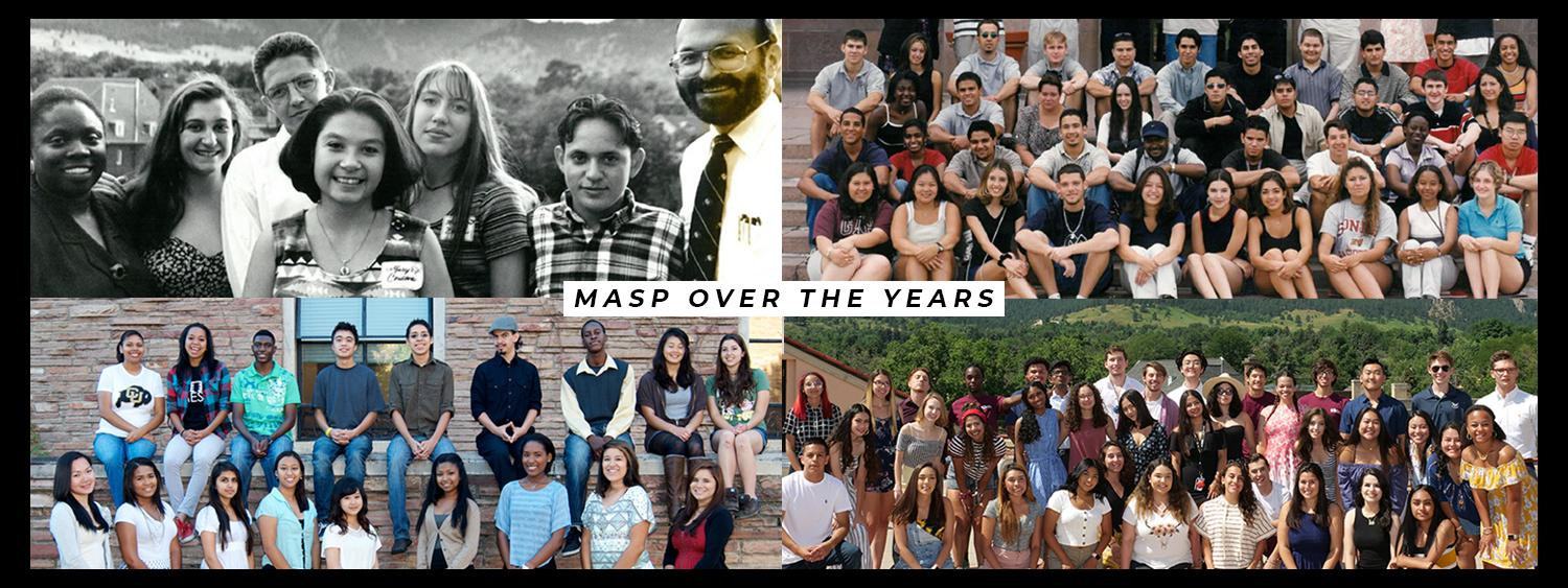 MASP Over the Years--Pictures of various cohorts over the past deacdes