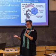 Kate Semsar at Best Practices Colloquium