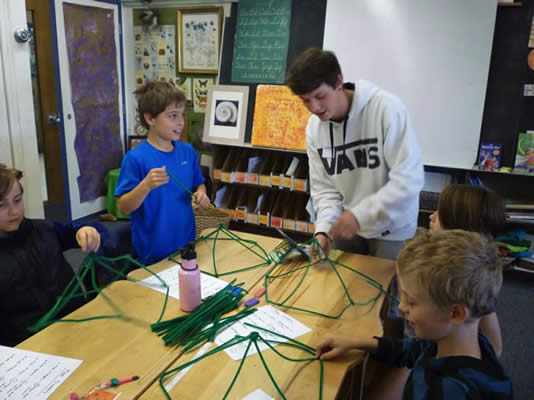 More Platonic solids, with MATH 1130 students and BVSD 3rd graders
