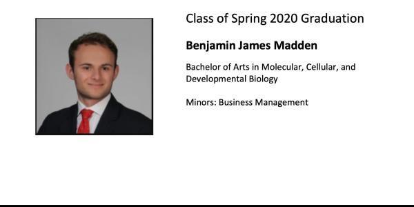 Benjamin James Madden