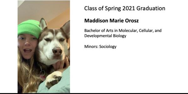 Maddison Marie Orosz