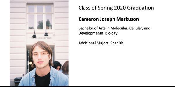 Cameron Joseph Markuson