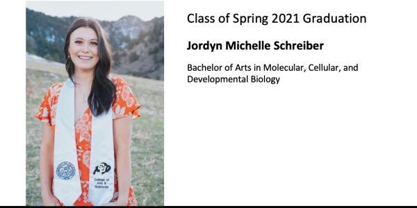 Jordyn Michelle Schreiber
