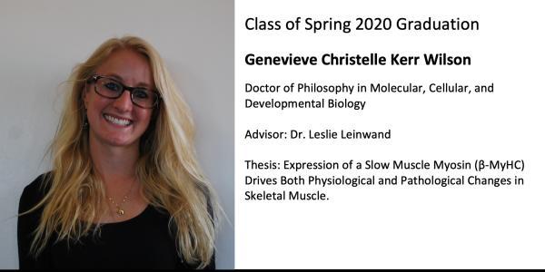 Genevieve Christelle Kerr Wilson
