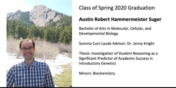 Austin Robert Hammermeister Suger