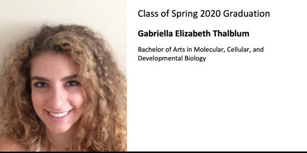 Gabriella Elizabeth Thalblum