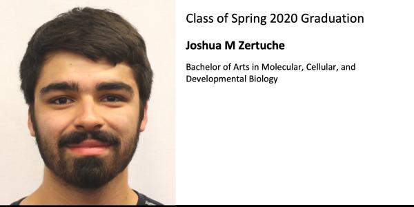 Joshua M Zertuche