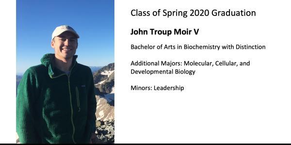 John Troup Moir V