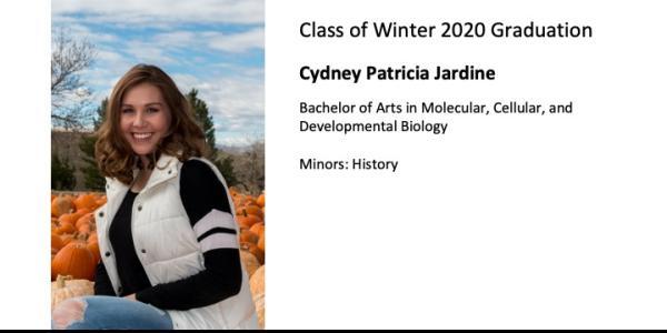 Cydney Patricia Jardine