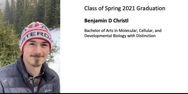 Benjamin D Christl