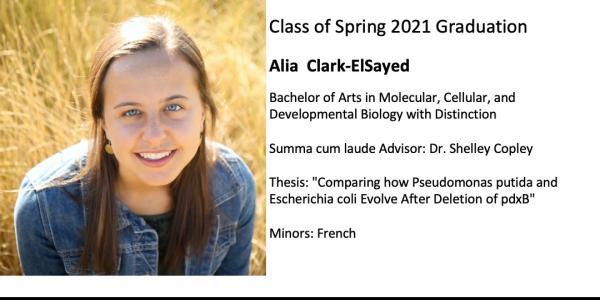 Alia  Clark-ElSayed