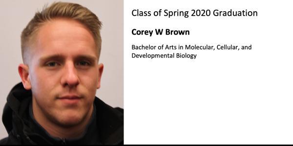 Corey W Brown