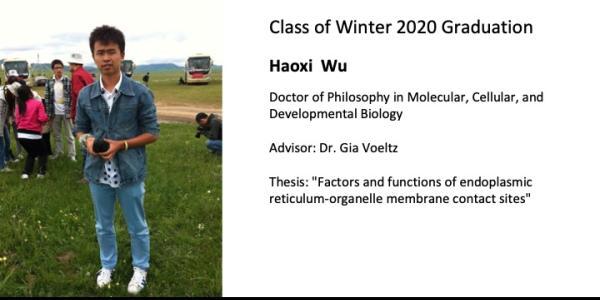 Hoaxi Wu
