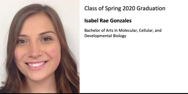 Isabel Rae Gonzales