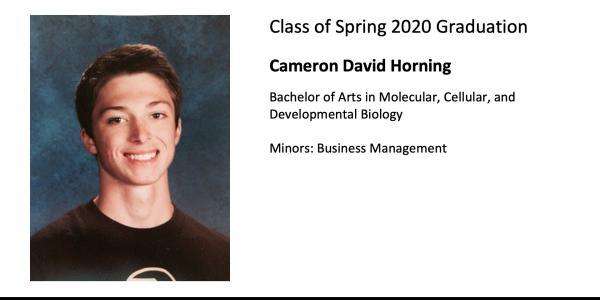 Cameron David Horning