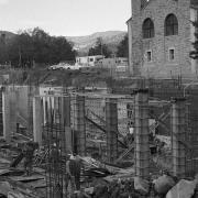 The Porter Bioscience building under construction.