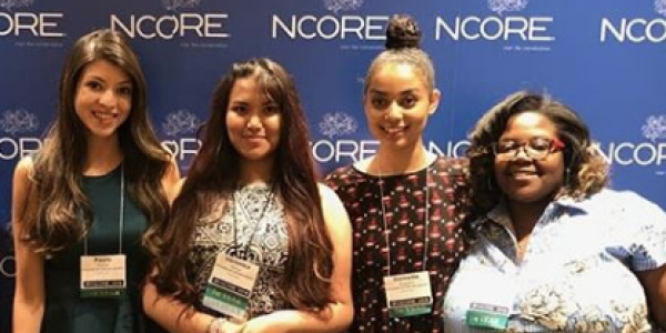McNeill students and staff at NCORE 2018