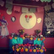 Celebrating El Dia de los Muertos at SASC