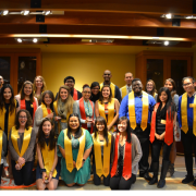 Graduating SASC students pose for a group photo