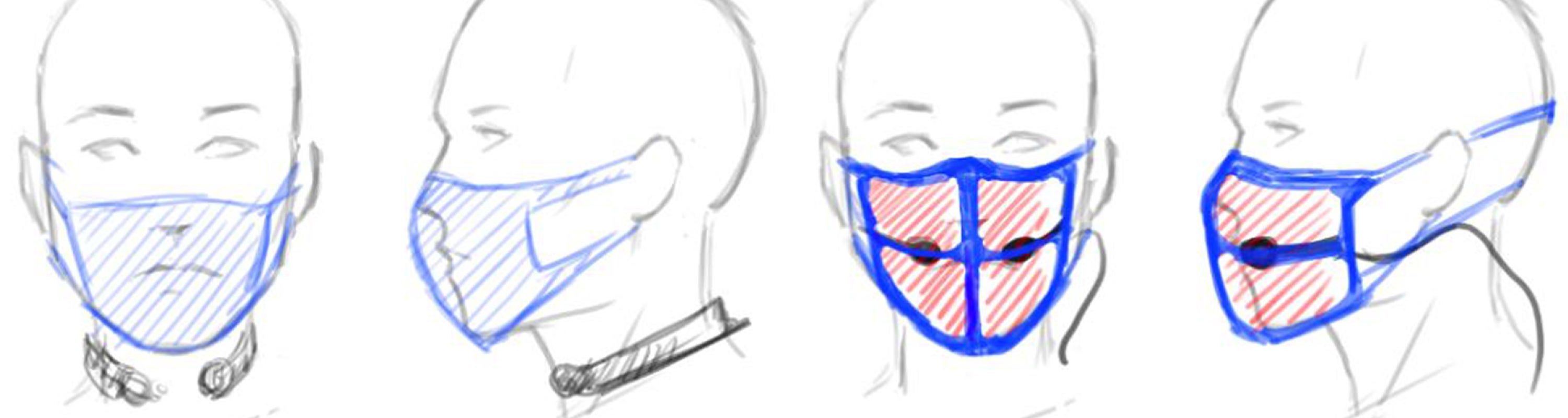 masks and microphones sketches