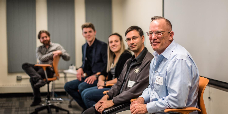 ME Alumni Connect Day 2018 panelists
