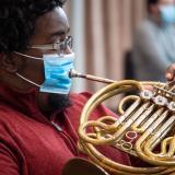 covid safe musician