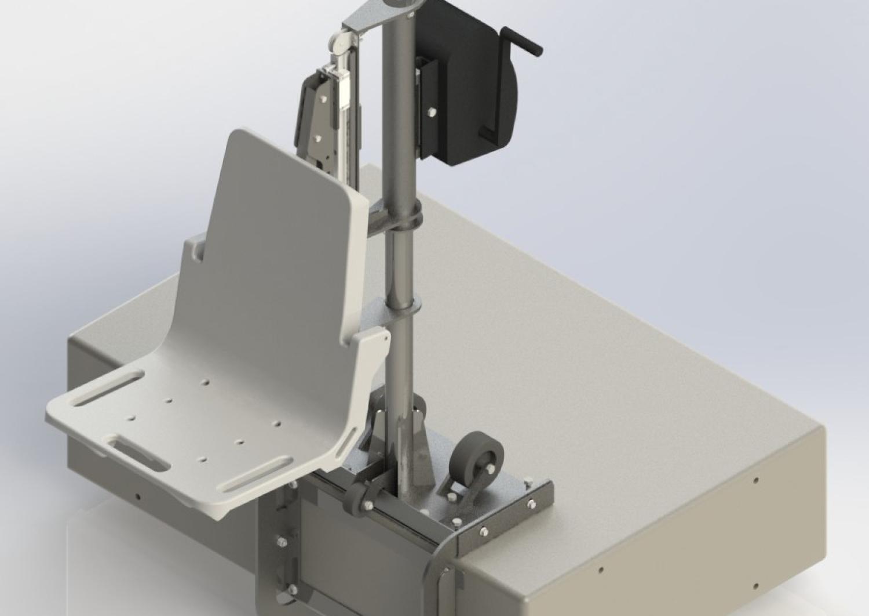 CU Boulder capstone design swimmer lift system