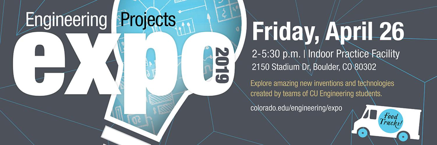 2019 CU Engineering projects expo