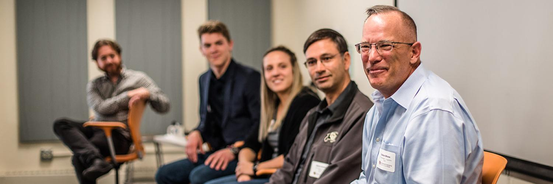 ME Alumni Connect Day panelists