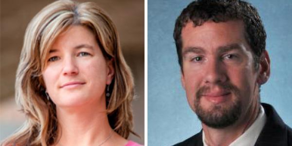 Virginia Ferguson and Mark Borden