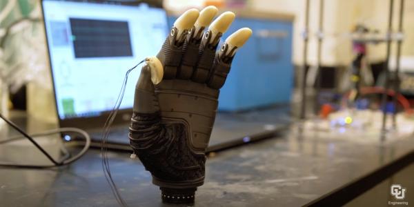 Membrane-powered prosthetics