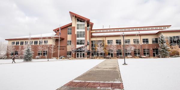 Western Colorado University campus.