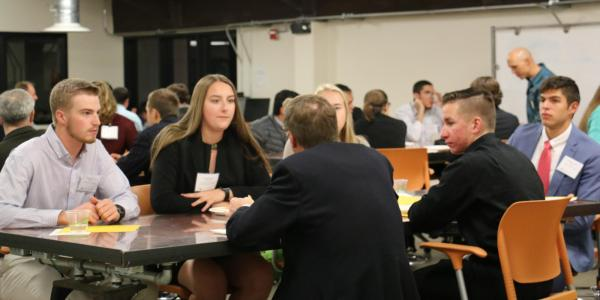 mock interviews with mechanical engineering students