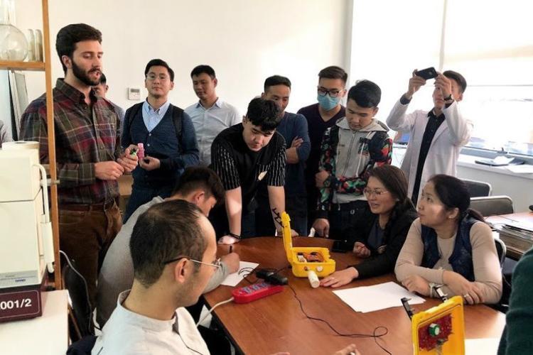 AQIQ in Mongolia Pods Demonstration