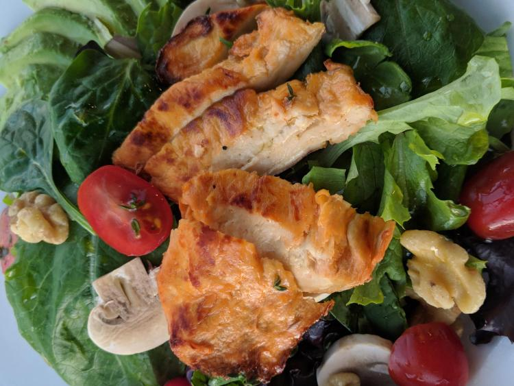 Emergy Foods Protein in a salad
